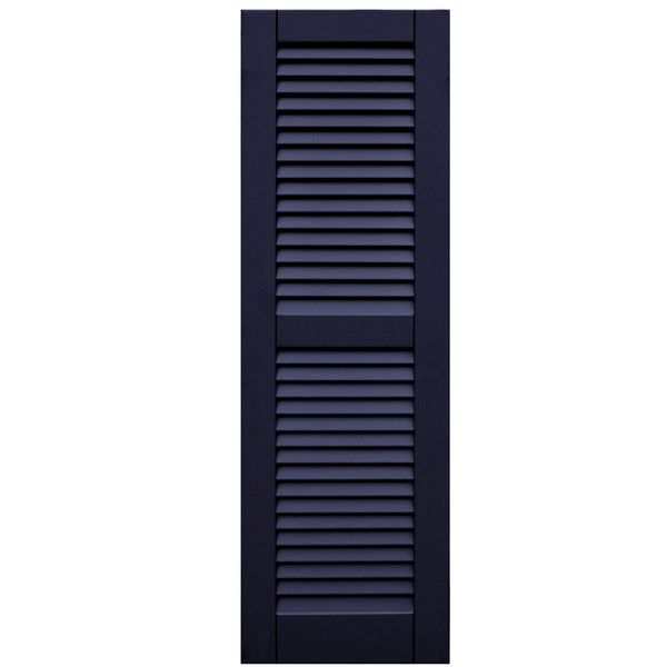 Additional Rail Faux Louver Shutters - [Classic Collection] - Brockwell Incorporated
