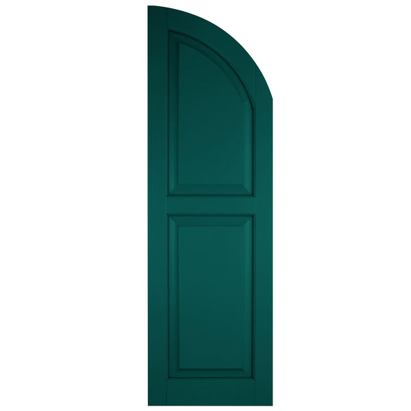 Arch (Radius Top) Raised Panel Shutters - [Classic Collection] - Brockwell Incorporated