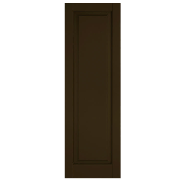 Purchase-Single Raised Panel Shutters - [Classic Collection]-Brockwell Incorporated