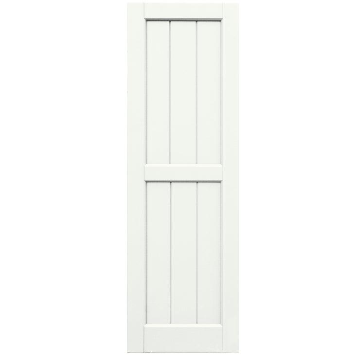 Purchase-V-Groove Flat Panel Shutters - [Classic Collection]-Brockwell Incorporated