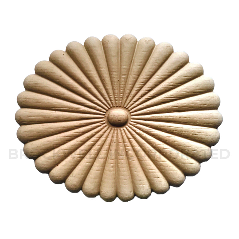 Colonial style Compo Oval rosette design from Brockwell Incorporated