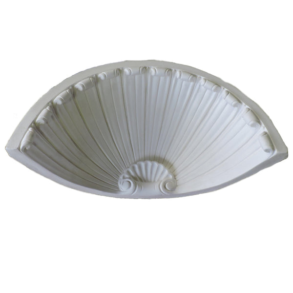 Custom Home Products - Plaster Niche Cap - Colonial Design