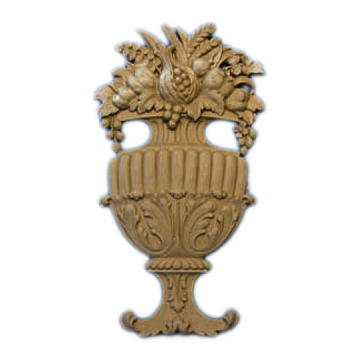 "4""(W) x 7-1/2""(H) - Decorative Cornucopia Basket Accent - [Compo Material] - Brockwell Incorporated"