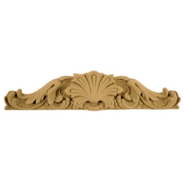 "9""(W) x 2""(H) - Home Dcor Cartouche Accent - [Compo Material] - Brockwell Incorporated"