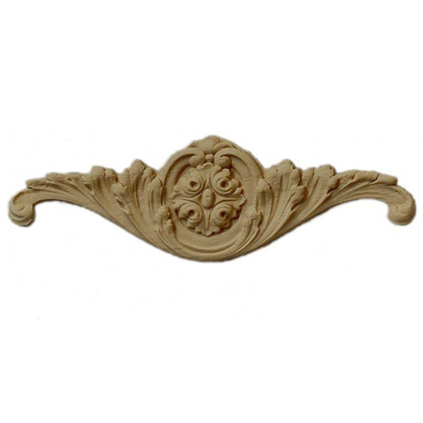 "8""(W) x 2-1/2""(H) - Stain-Grade Cartouche Accent - [Compo Material] - Brockwell Incorporated"