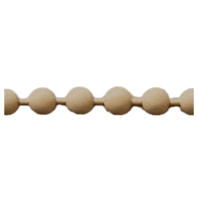 "Brockwell Incorporated's 5/8""(H) x 3/8""(Relief) - Renaissance Stain-Grade Linear Bead Molding Style - [Compo Material]"