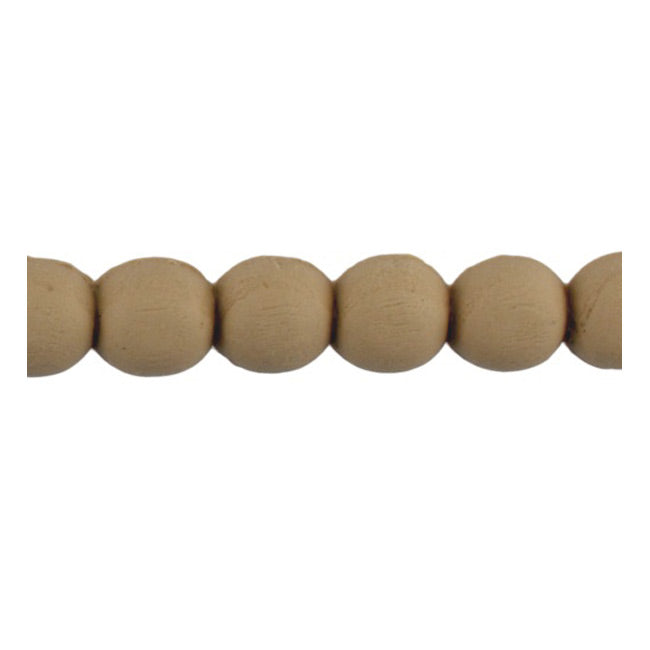 "Brockwell Incorporated's 5/8""(H) x 5/16""(Relief) - Renaissance Stain-Grade Linear Bead Molding Style - [Compo Material]"
