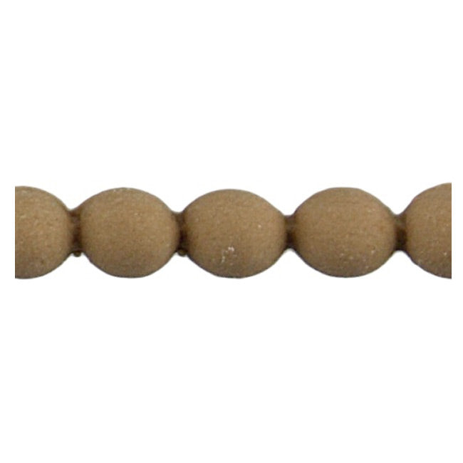 "Brockwell Incorporated's 3/16""(H) x 5/32""(Relief) - Interior Renaissance Bead Linear Molding Style - [Compo Material]"