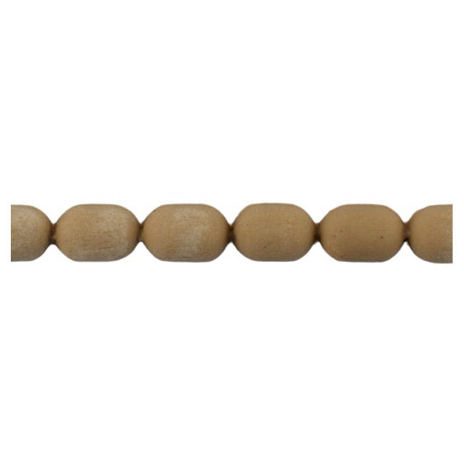 "Brockwell Incorporated's 3/8""(H) x 1/4""(Relief) - Interior Renaissance Bead Linear Molding Design - [Compo Material]"