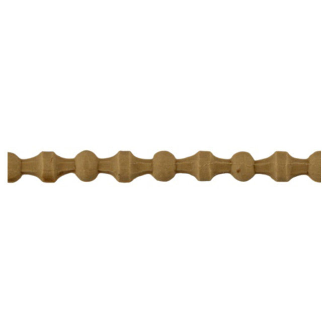 "Brockwell Incorporated's 5/16""(H) x 1/8""(Relief) - Renaissance Bead Linear Molding Design - [Compo Material]"