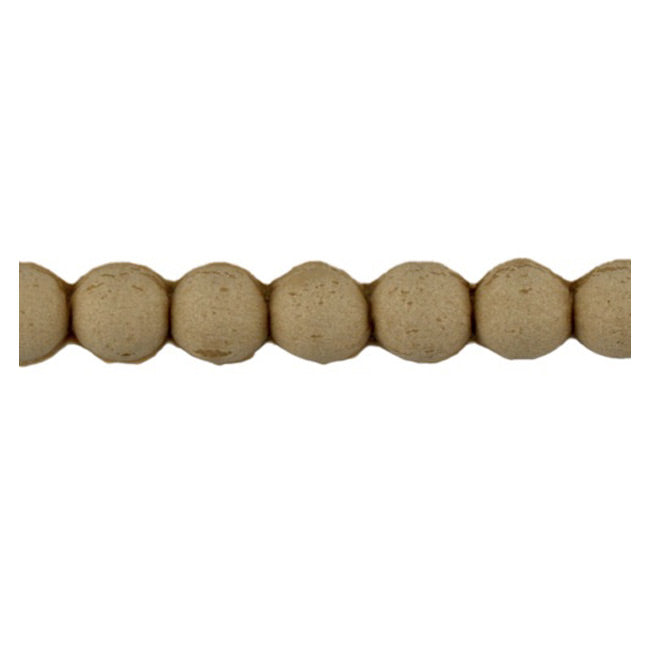 "Brockwell Incorporated's 3/8""(H) x 1/4""(Relief) - Renaissance Bead Linear Molding Design - [Compo Material]"
