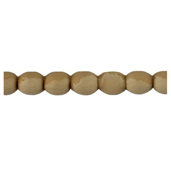 "Brockwell Incorporated's 3/8""(H) x 5/16""(Relief) - Renaissance Bead Linear Molding Design - [Compo Material]"
