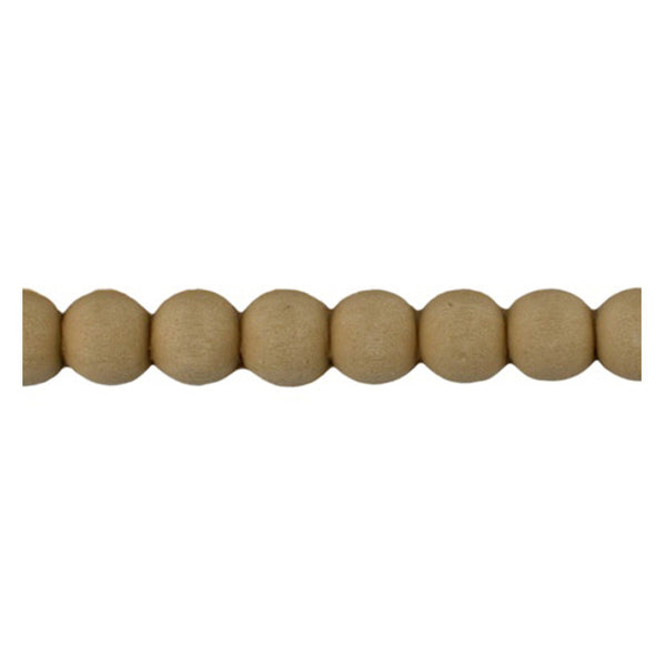 "Brockwell Incorporated's 1/2""(H) x 1/4""(Relief) - Renaissance Bead Linear Molding Design - [Compo Material]"