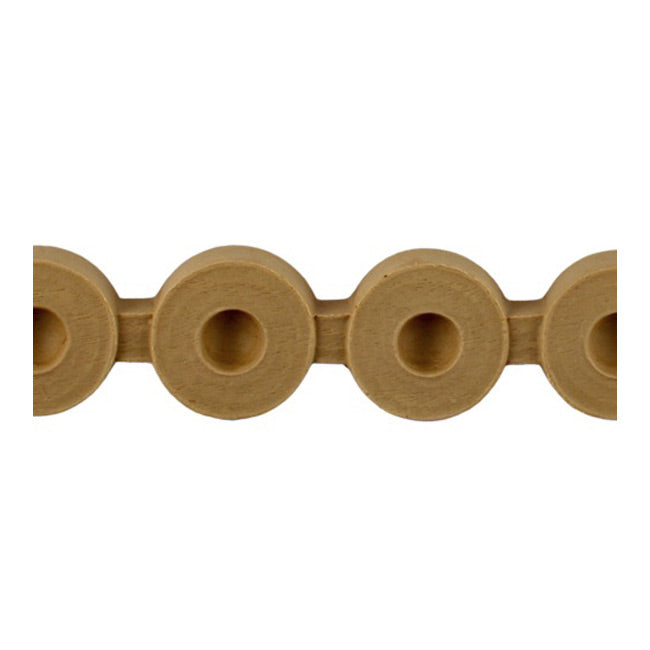"Brockwell Incorporated's 1-5/16""(H) x 3/8""(Relief) - Flemish Stain-Grade Linear Bead Molding Style - [Compo Material]"