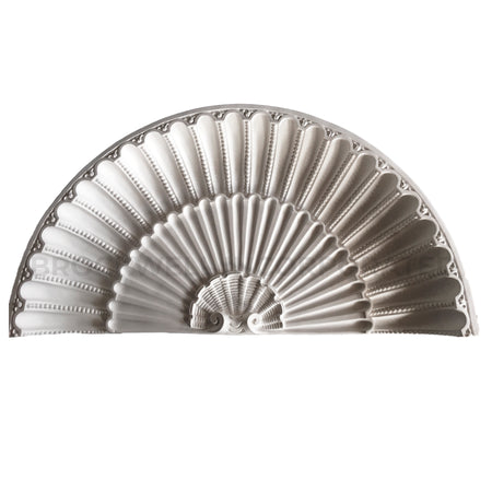 Buy classic shell plaster niche caps online at ColumnsDirect.com
