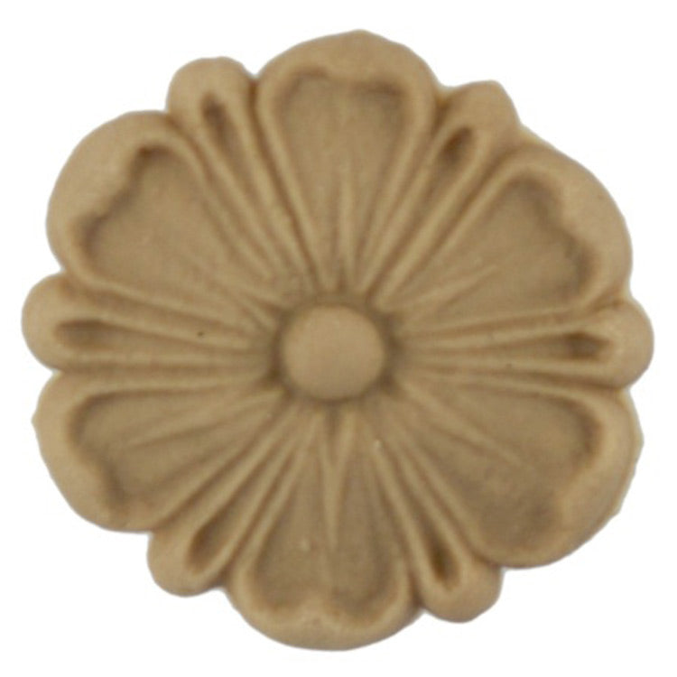 Circle Resin Rosettes for Fluted Casing - Item # RST-F291-CP-2 - ColumnsDirect.com