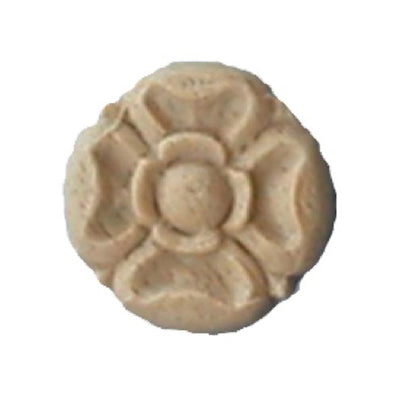 Circle Resin Rosettes for Fluted Casing - Item # RST-F2537-CP-2 - ColumnsDirect.com