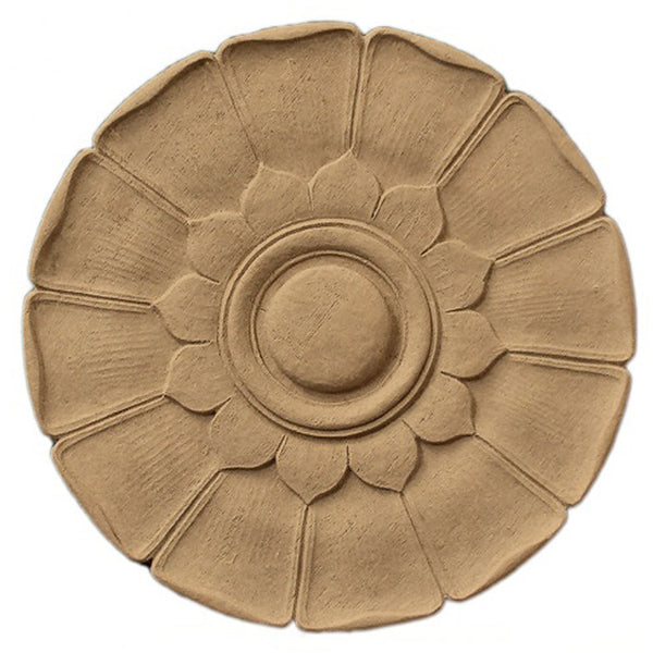 Circle Resin Rosettes for Fluted Casing - Item # RST-68331-CP-2 - ColumnsDirect.com