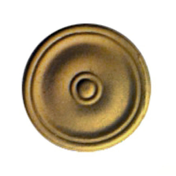Circle Resin Rosettes for Fluted Casing - Item # RST-F3664-CP-2 - ColumnsDirect.com