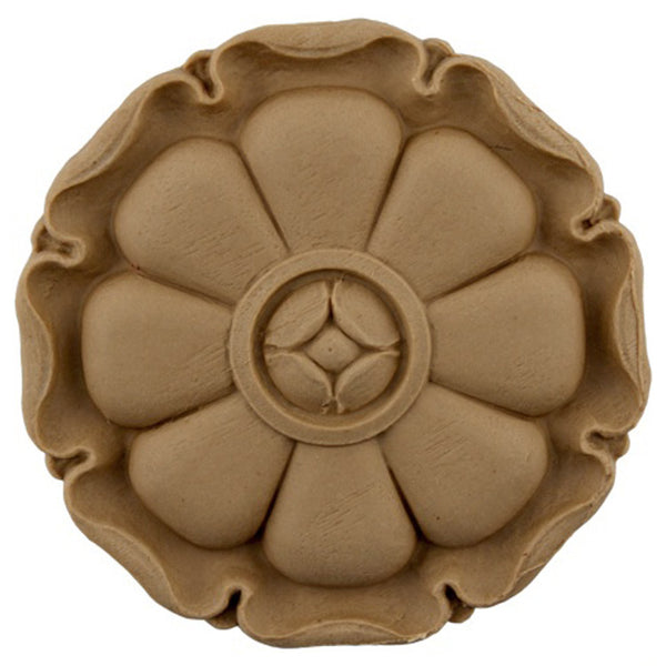 Circle Resin Rosettes for Fluted Casing - Item # RST-F3084-CP-2 - ColumnsDirect.com