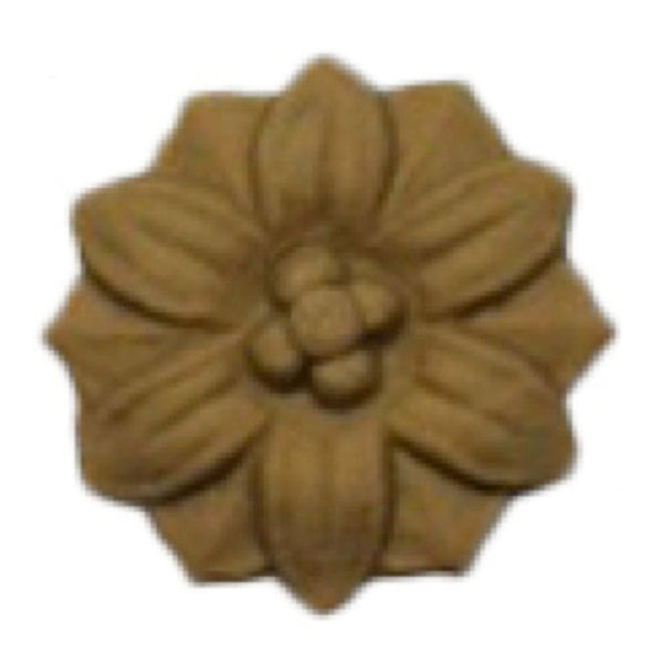 Circle Resin Rosettes for Fluted Casing - Item # RST-2705-CP-2 - ColumnsDirect.com