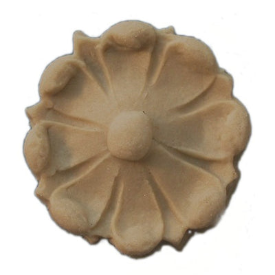 Circle Resin Rosettes for Fluted Casing - Item # RST-5705-CP-2 - ColumnsDirect.com