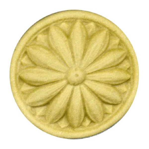 Circle Resin Rosettes for Fluted Casing - Item # RST-F871-CP-2 - ColumnsDirect.com