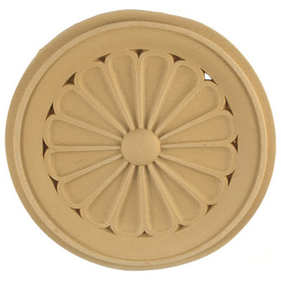 Circle Resin Rosettes for Fluted Casing - Item # RST-2625-CP-2 - ColumnsDirect.com