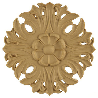 Circle Resin Rosettes for Fluted Casing - Item # RST-7625-CP-2 - ColumnsDirect.com