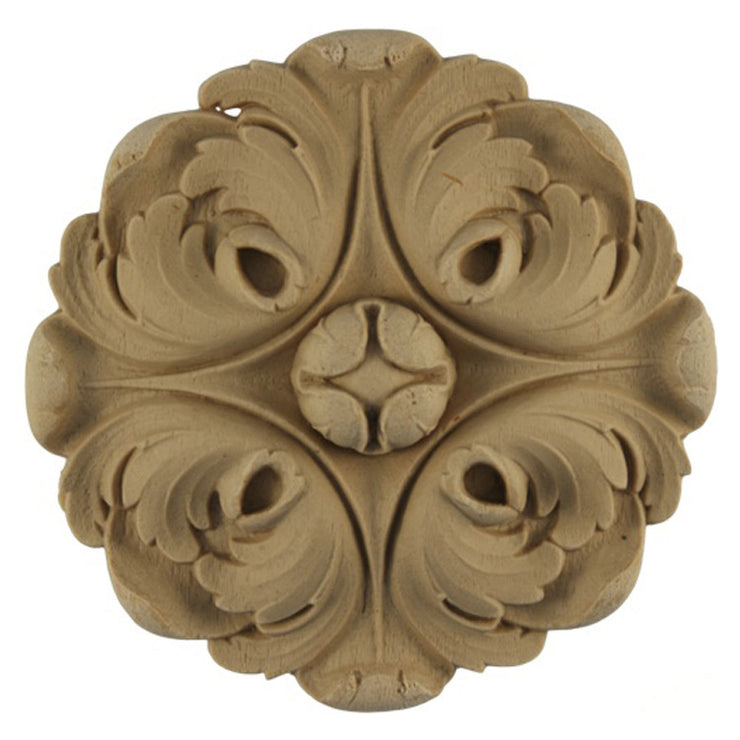 Circle Resin Rosettes for Fluted Casing - Item # RST-1145-CP-2 - ColumnsDirect.com