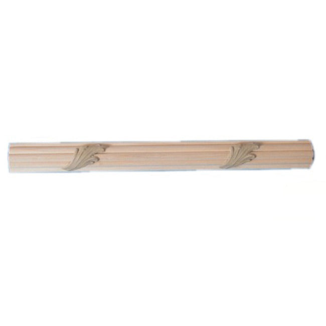 "Buy 1-1/8""(H) x 15/16""(Proj.) - Acanthus Onlay Panel Molding Design (Poplar) - [Wood Material] - Brockwell Incorporated"