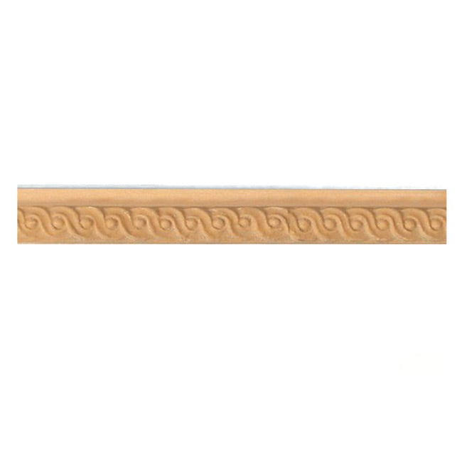 "Buy 1/2""(H) x 1/4""(Proj.) - Small Running Coin Onlay Panel Molding Design (Poplar) - [Wood Material] - Brockwell Incorporated"