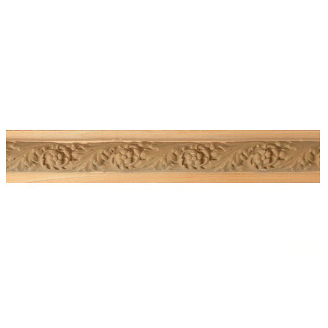 "Buy 1-1/2""(H) x 13/16""(Proj.) - Rinceau Onlay Panel Molding Design (Poplar) - [Wood Material] - Brockwell Incorporated"