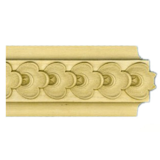 "Buy 2""(H) x 7/8""(Proj.) - Running Coin Onlay Panel Molding Design (Poplar) - [Wood Material] - Brockwell Incorporated"