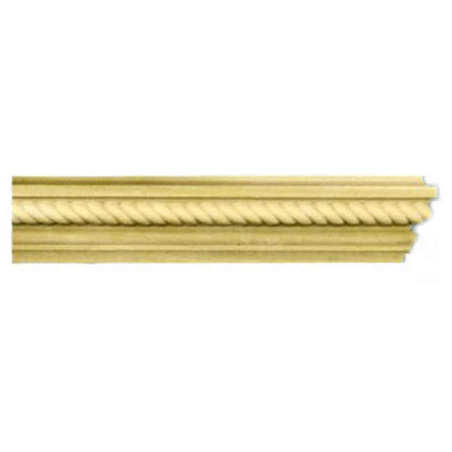 "Buy 1-5/8""(H) x 13/16""(Proj.) - Rope Onlay Panel Molding Design (Poplar) - [Wood Material] - Brockwell Incorporated"