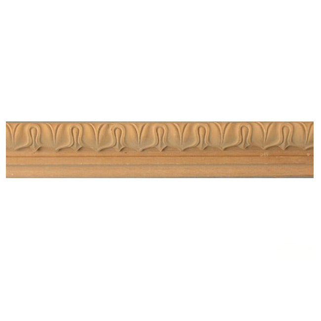 "Buy 1-1/2""(H) x 3/4""(Proj.) - Lamb's Tongue Onlay Panel Molding Design (Poplar) - [Wood Material] - Brockwell Incorporated"