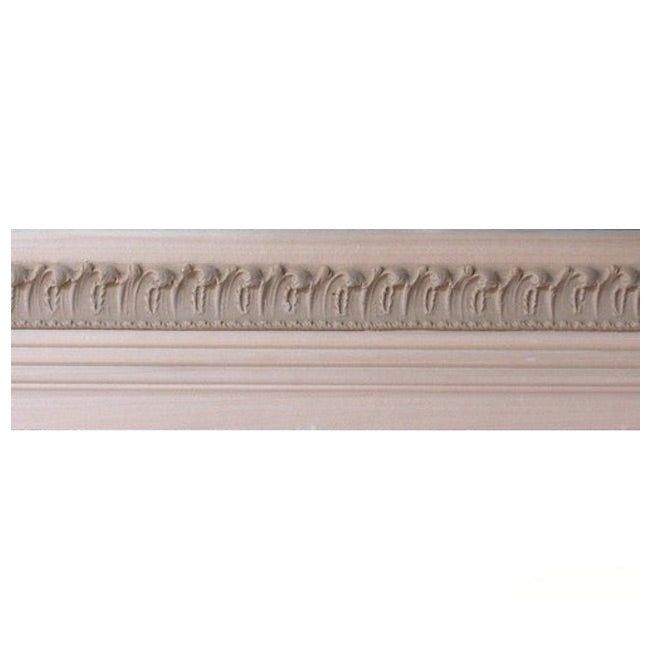 "Buy 2-7/8""(H) x 7/8""(Proj.) - Leaf Onlay Panel Molding Design (Poplar) - [Wood Material] - Brockwell Incorporated"