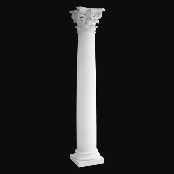 Fiberglass Column Design #BR-152 - Plain, Roman Corinthian Column from Brockwell