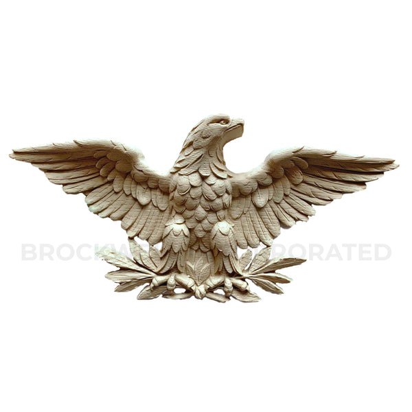Federal Style Eagle compo resin applique design from Brockwell Incorporated