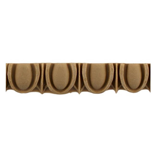"Historic 5/8""(H) x 5/16""(Relief) - Linear Moulding - Roman Egg & Dart Design - [Compo Material] = ColumnsDirect.com"