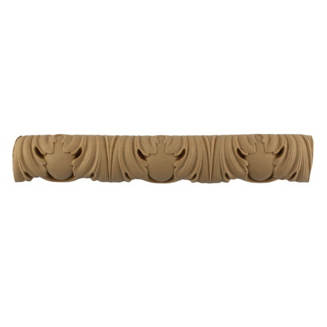 "Historic 2-1/8""(H) x 7/8""(Relief) - Egg & Dart (French) Linear Moulding Design - Stain-Grade - [Compo Material] = ColumnsDirect.com"