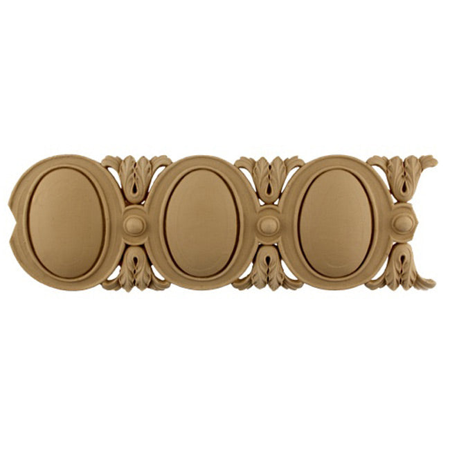 "Historic 4-3/16""(H) x 7/16""(Relief) - Louis XVI Style Egg & Dart Linear Moulding Design - Stainable - [Compo Material] = ColumnsDirect.com"