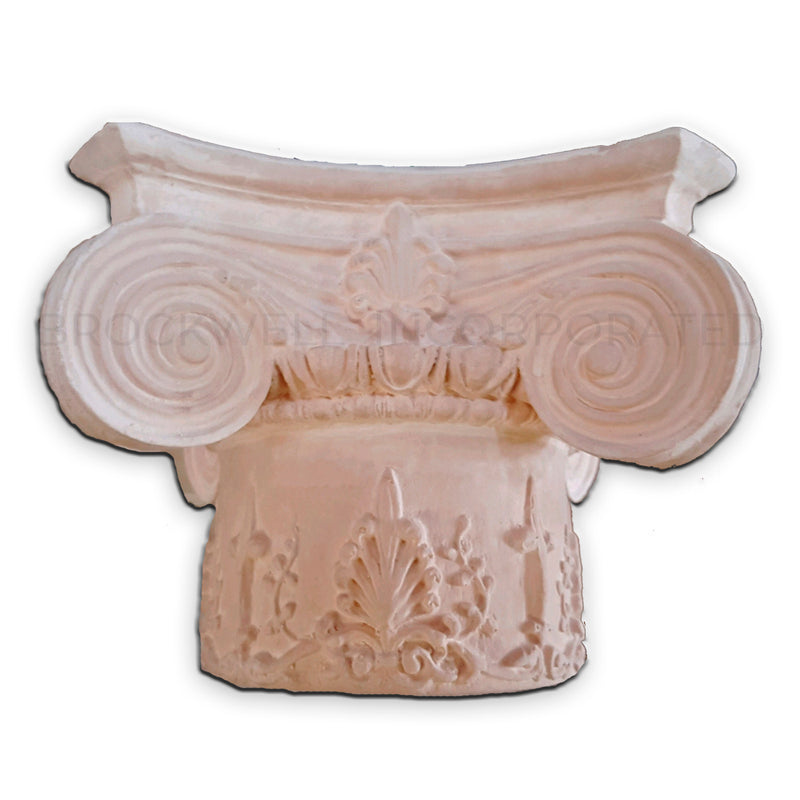 Empire with Decorative Necking Exterior Resin Column Capital