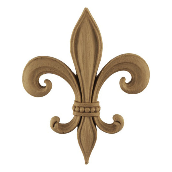 brockwell incorporated - resin empire fleur de lis applique