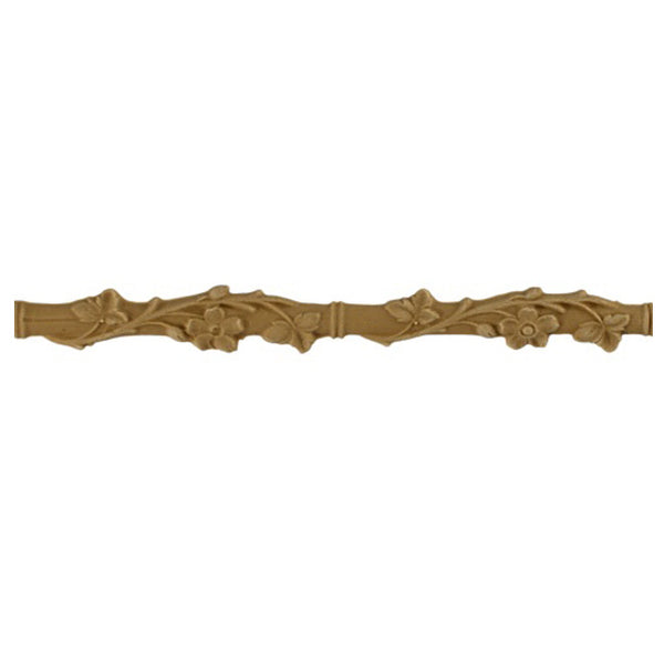 "1""(H) x 1/4""(Relief) - Buy Stainable Linear Molding - Bamboo Design -Brockwell Incorporated"