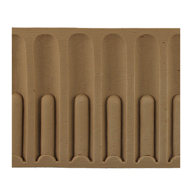 "ColumnsDirect.com - 4-5/16""(H) x 1/4""(Relief) - Stain-Grade Colonial Fluted Interior Linear Moulding Style - [Compo Material]"