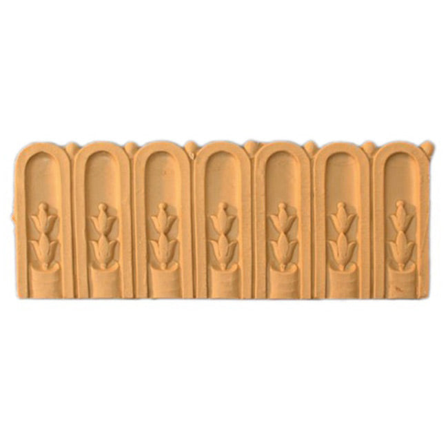 "ColumnsDirect.com - 4""(H) x 1/16""(Relief) - Louis XVI Fluted Interior Linear Moulding Style - [Compo Material]"