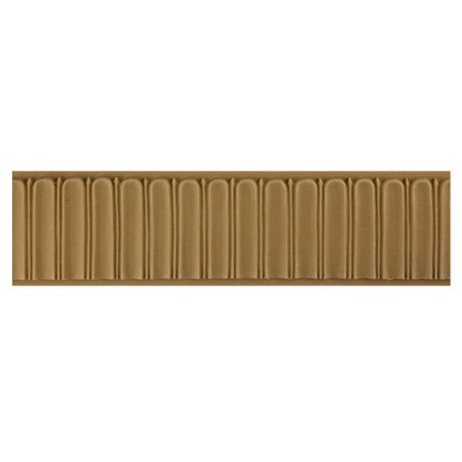 "ColumnsDirect.com - 2-5/8""(H) x 5/16""(Relief) - Stainable Interior Linear Moulding - Fluted Design - [Compo Material]"