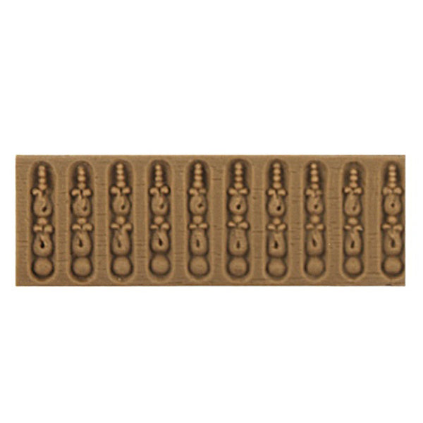 "ColumnsDirect.com - 7/8""(H) x 1/16""(Relief) - Interior Linear Moulding - Louis XVI Fluted Design - [Compo Material]"
