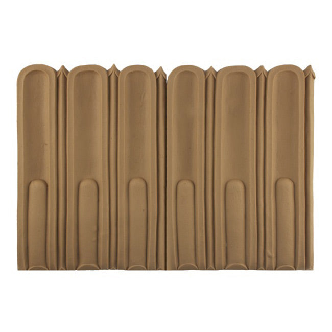 "ColumnsDirect.com - 8-1/4""(H) x 3/8""(Relief) - Interior Linear Moulding - Louis XVI Fluted Design - [Compo Material]"